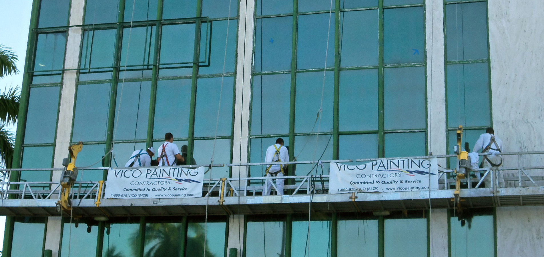 painting painters miami commercial