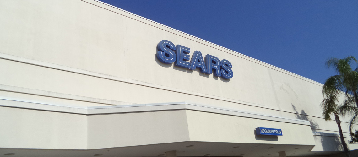 sears commercial painting in miami
