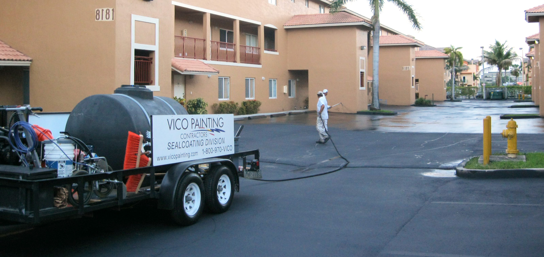 Vico Painting Contractors Sealcoating Division