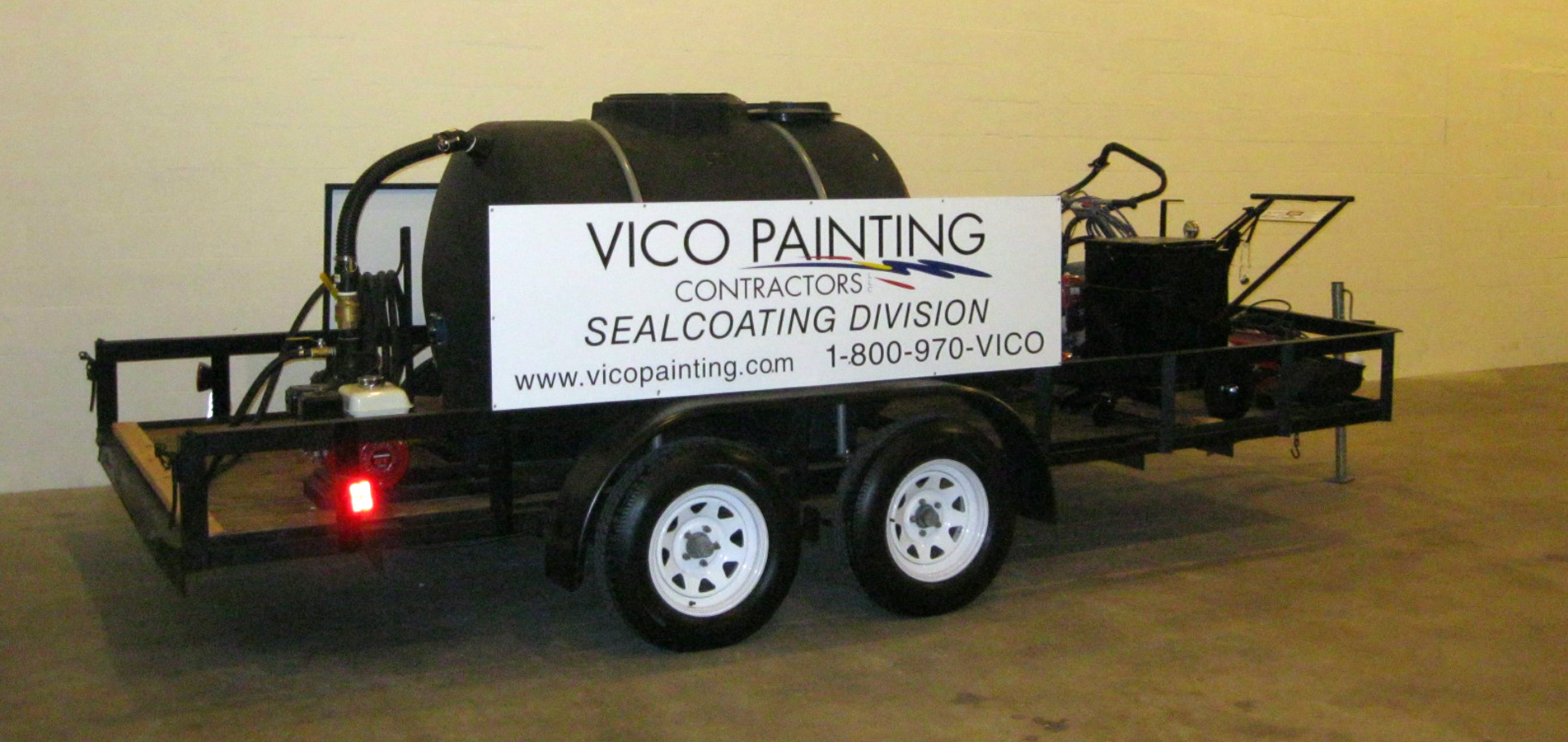 Vico Painting Sealcoating And Striping Services, Miami, Fl